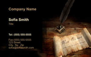 Unified  Design Business Cards Credit Card Template: 354418