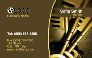 Keys Business Cards Credit Card Template: 320041