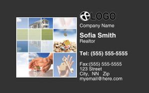 Button to customize design *Residential Business Cards Credit Card Template: 325062