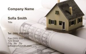 . General Construction / Renovation Business Cards Credit Card Template: 354629