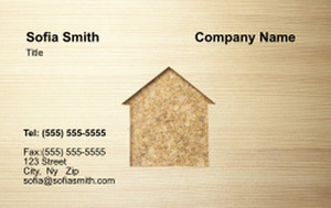 . General Construction / Renovation Business Cards Credit Card Template: 354615