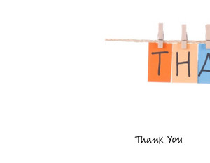 Thank you Greeting Cards Portrait Template: 332628