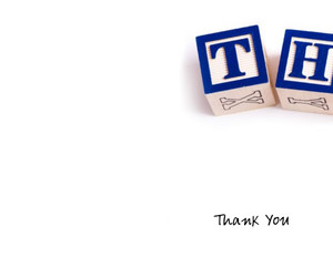 Thank you Greeting Cards Portrait Template: 332617