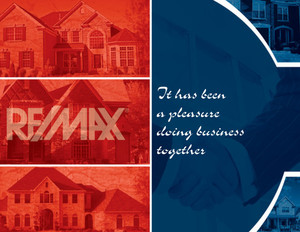 Remax Greeting Cards Portrait Template: 327573