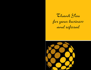 Century 21 Greeting Cards Portrait Template: 327587