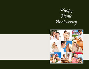 Concepts / Ideas Greeting Cards Portrait Template: 324899