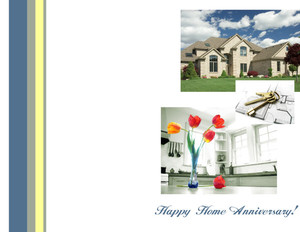 *Residential Greeting Cards Portrait Template: 320656