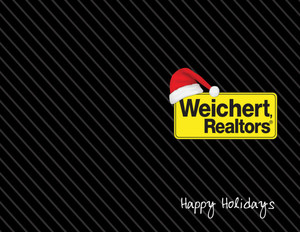 Button to customize design Weichert Holiday Greeting Cards Portrait Template: 519091