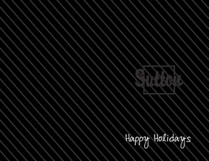 Button to customize design Sutton Holiday Greeting Cards Portrait Template: 370252