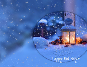 Sutton Holiday Greeting Cards Portrait Template: 519015