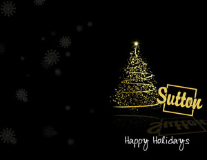 Sutton Holiday Greeting Cards Portrait Template: 370092