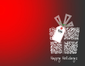 Sutton Holiday Greeting Cards Portrait Template: 370093