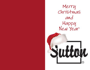Sutton Holiday Greeting Cards Portrait Template: 324582