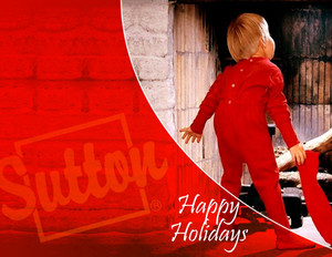 Sutton Holiday Greeting Cards Portrait Template: 324584