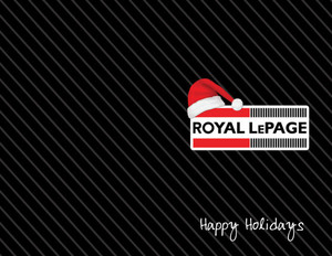 Royal Le Page Holiday Greeting Cards Portrait Template: 519003