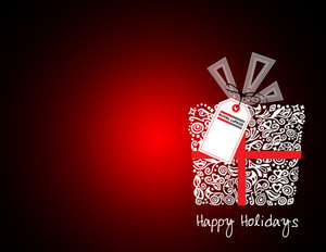Button to customize design Royal Le Page Holiday Greeting Cards Portrait Template: 370238