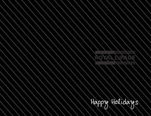 Button to customize design Royal Le Page Holiday Greeting Cards Portrait Template: 370245