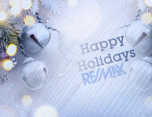Button to customize design Remax Holiday Greeting Cards Portrait Template: 603071