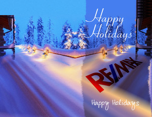 Button to customize design Remax Holiday Greeting Cards Portrait Template: 578099