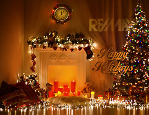 Button to customize design Remax Holiday Greeting Cards Portrait Template: 578111