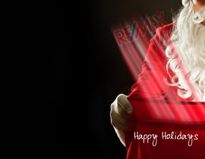 Button to customize design Remax Holiday Greeting Cards Portrait Template: 370083