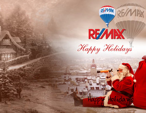 Button to customize design Remax Holiday Greeting Cards Portrait Template: 578063