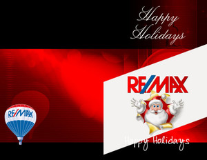 Button to customize design Remax Holiday Greeting Cards Portrait Template: 578077