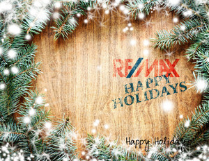 Button to customize design Remax Holiday Greeting Cards Portrait Template: 578085