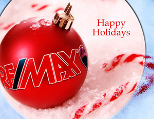 Button to customize design Remax Holiday Greeting Cards Portrait Template: 324559