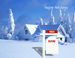 Button to customize design Remax Holiday Greeting Cards Portrait Template: 370072