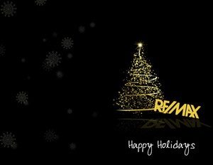 Button to customize design Remax Holiday Greeting Cards Portrait Template: 370076