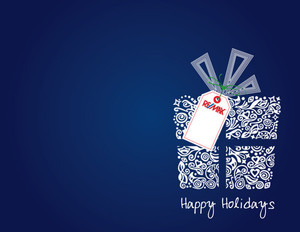 Button to customize design Remax Holiday Greeting Cards Portrait Template: 370077