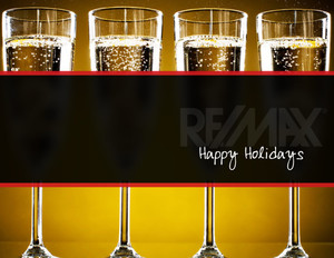 Button to customize design Remax Holiday Greeting Cards Portrait Template: 370081