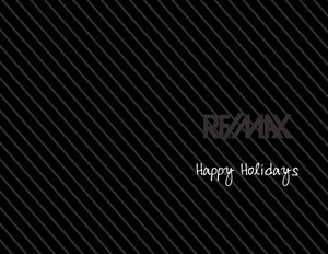 Remax Holiday Greeting Cards Portrait Template: 370251
