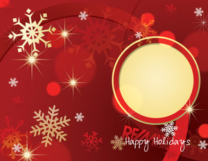 Remax Holiday Greeting Cards Portrait Template: 517477