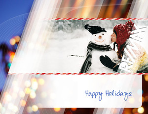 Remax Holiday Greeting Cards Portrait Template: 517481