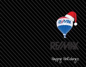 Remax Holiday Greeting Cards Portrait Template: 517463