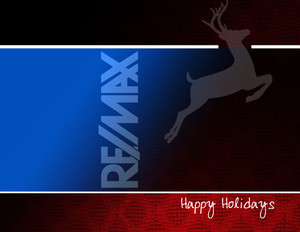 Remax Holiday Greeting Cards Portrait Template: 517465