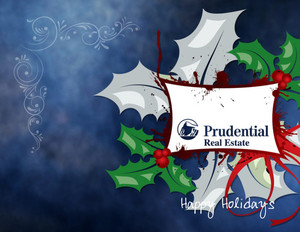 Button to customize design Prudential Holiday Greeting Cards Portrait Template: 518975