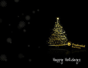 Prudential Holiday Greeting Cards Portrait Template: 370065