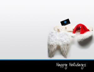 Button to customize design Prudential Holiday Greeting Cards Portrait Template: 370069