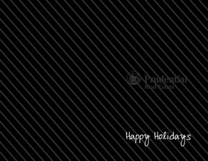 Prudential Holiday Greeting Cards Portrait Template: 370249