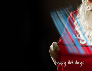 Prudential Holiday Greeting Cards Portrait Template: 370060