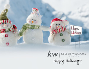 Button to customize design Keller Williams Holiday Greeting Cards Portrait Template: 578241