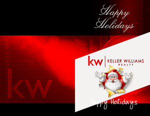 Keller Williams Holiday Greeting Cards Portrait Template: 578249