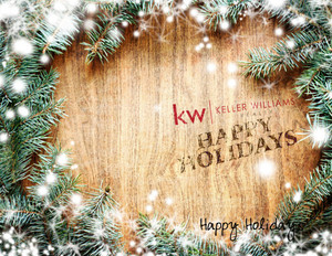 Button to customize design Keller Williams Holiday Greeting Cards Portrait Template: 578259