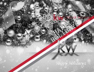 Button to customize design Keller Williams Holiday Greeting Cards Portrait Template: 578265