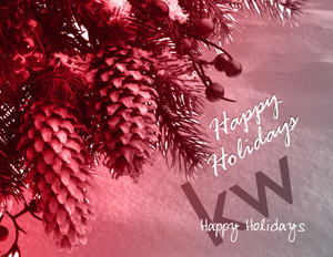 Button to customize design Keller Williams Holiday Greeting Cards Portrait Template: 578269