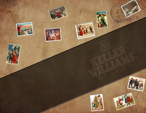 Button to customize design Keller Williams Holiday Greeting Cards Portrait Template: 370110