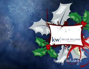 Button to customize design Keller Williams Holiday Greeting Cards Portrait Template: 517505